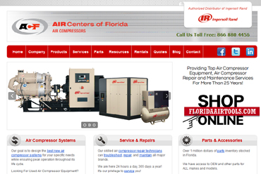 Air Centers of Florida, Air Compressors